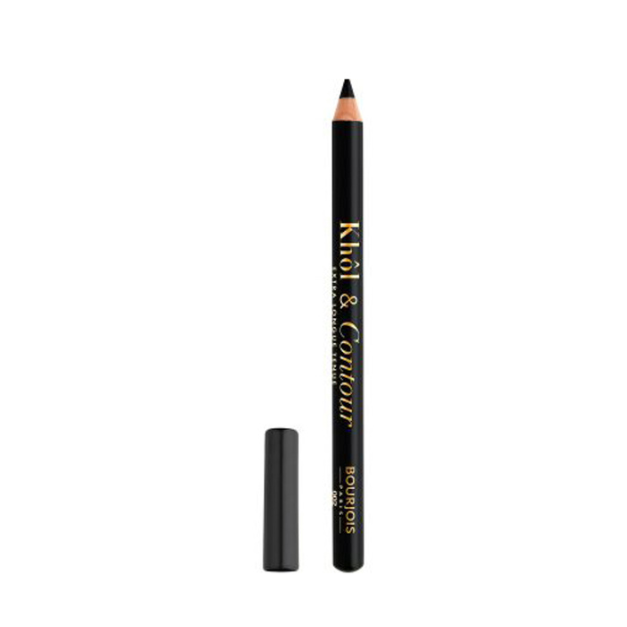 2 In 1 Kohl Contour Eyepencil Ultra Black - Ultra Black