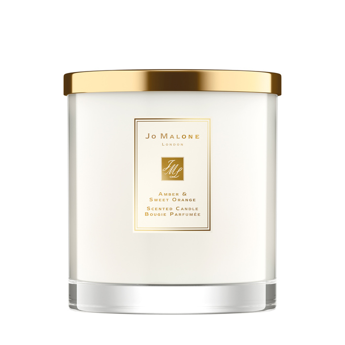 Amber & Sweet Orange Luxury Candle