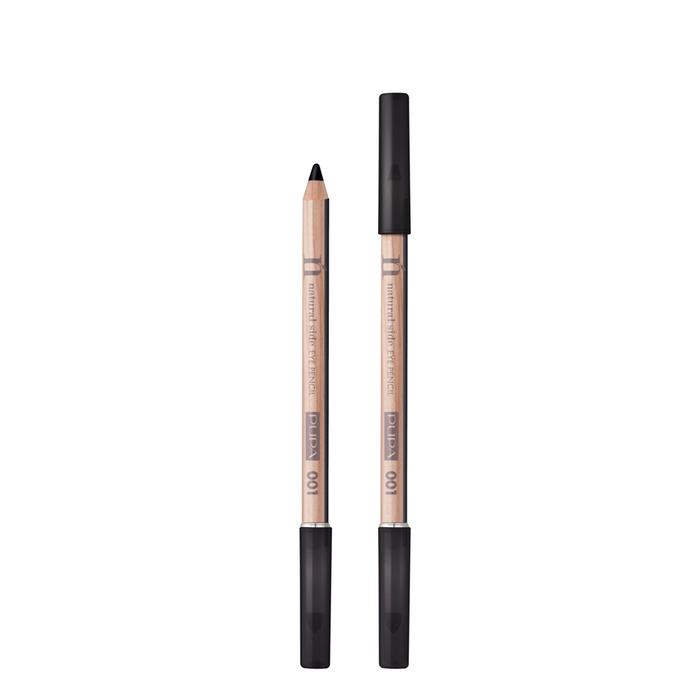 NATURAL SIDE Eye Pencil 001 Deep Black - 001 - Deep Black