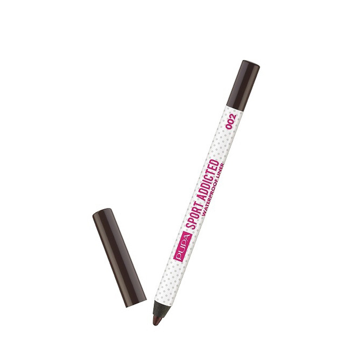 SPORT ADDICTED Waterproof Eye Pencil 002 Dynamic Brown