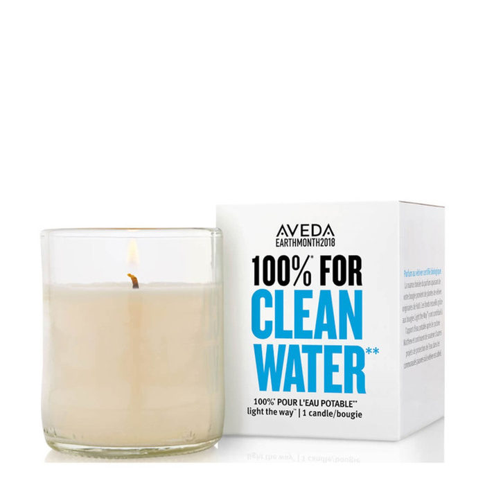 100% For Clean Water - Light The Way Soy Candle