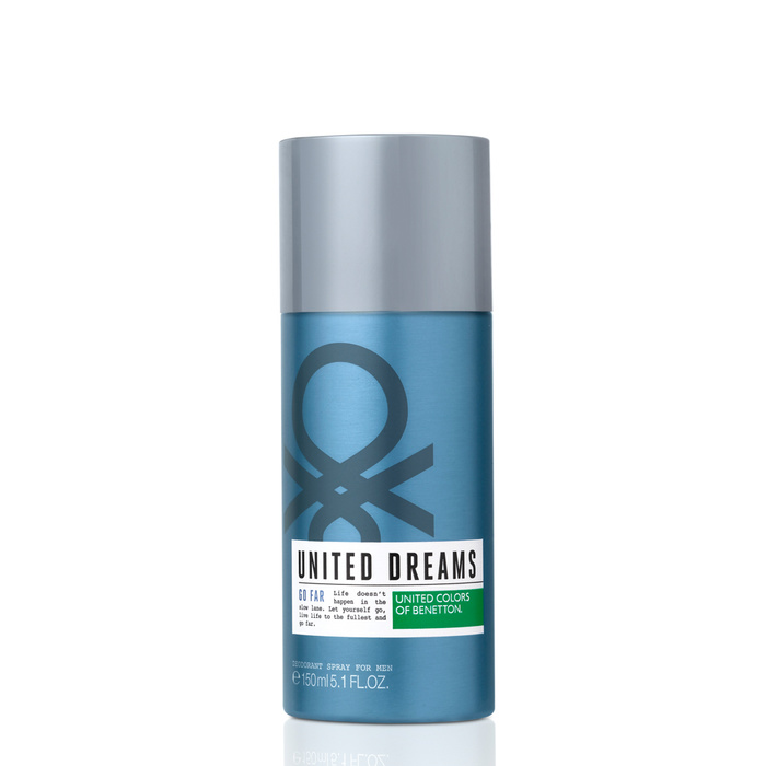 United Dreams Go Far Deodorant Spray 150ml
