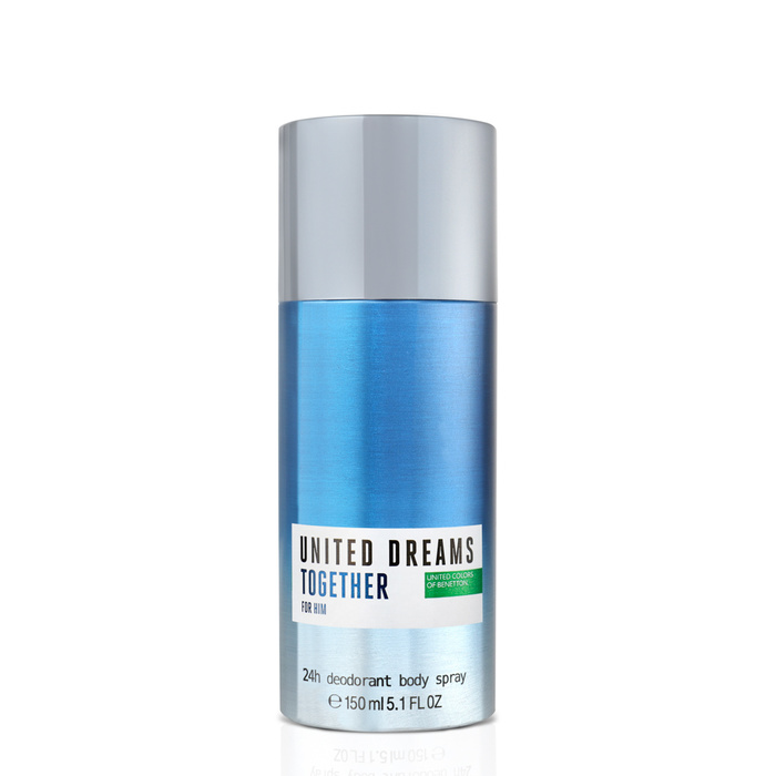 United Dreams Together For Him Deodorant Spray 150ml