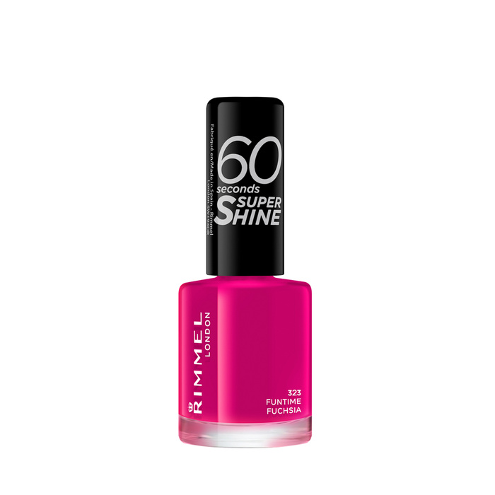 60 Seconds Super Shine - 323- Funtime Fuchsia