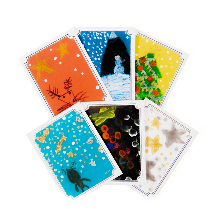 Holiday Cards: Standard Size x 6