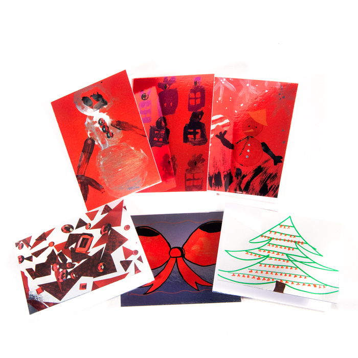 Holiday Cards: Gift Size x 6